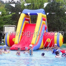 small inflatable pool slide for inground pool, hot sale inflatable inground pool slides