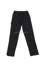 C0020 Brand 911 Black Basic Girl Denim Pants Stock Kids Jeans