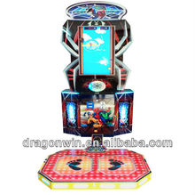 kids indoor coin operated Dragonwin Jump-Jumper simulator somatosensory lottery game philippines amusement machine manufacturer