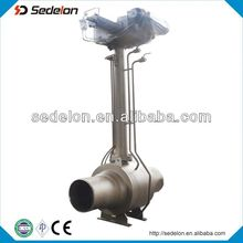 API Long Stem Butt Welded Cast Steel Ball Valve With Actuators