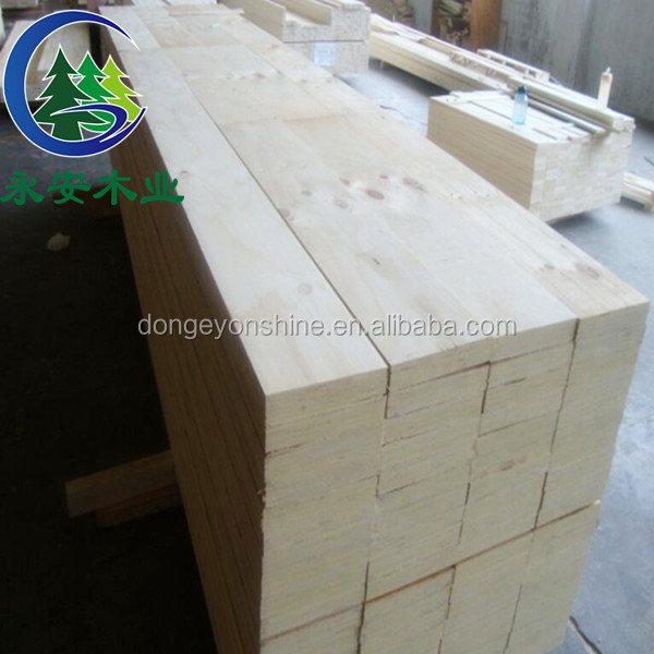 Pine wood sawn timber for construction / pallet wood