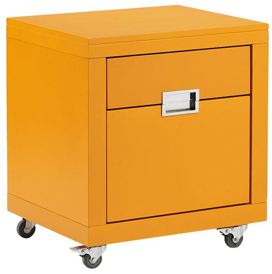 Hot sell modular office use 2 drawer movable wood filing cabinet