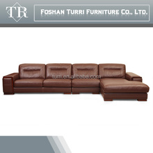 new design modern european lazy boy living room leather corner recliner sofa