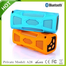 2015 Private best design New Best Outdoor Wireless Vatop Bluetooth Speaker With silicon cover