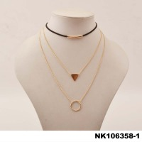 wholesale women jewelry chocker necklace/necklace set
