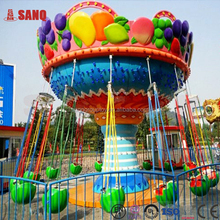 Alibaba fr! Theme Park Games Children Fruit Flying Chair for Sale!