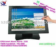 "15"" LCD touchscreen all in one pos computer with WIFI"