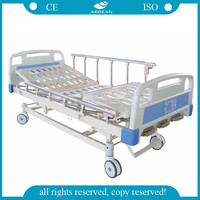 AG-BMS007 manual hospital bed furniture supply from china hospital bed linear actuator