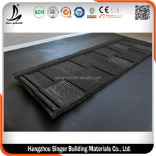 Stone Granuels Covered Metal Roof Tiles, Metal Shingle Roofing