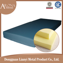 High dentiy foam compressed sleeping bed cheap sponge mattress for refugees
