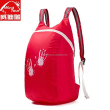 Unti Tear Polyester Fabric Lightweight Day Pack Only 80g With Shoulder Adjustment
