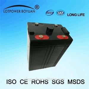 deep cycle battery Professional buy solar 2v 500ah battery solar power battery bank with CE certificate