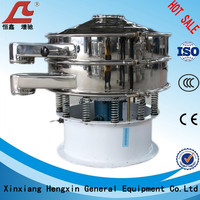 Vibrating sifter machine for powders and granule grading