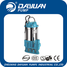WQD 1.5'' 10m3/h 1hp electric water pump motor price in China