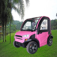 Electric mini 4 wheeler 2 seats battery powered golf cart