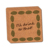 printing wholesale wood blank cork coaster with custom logo