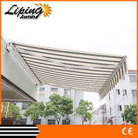 Effective Shielding Ultraviolet Rays Uble Retractable Awning