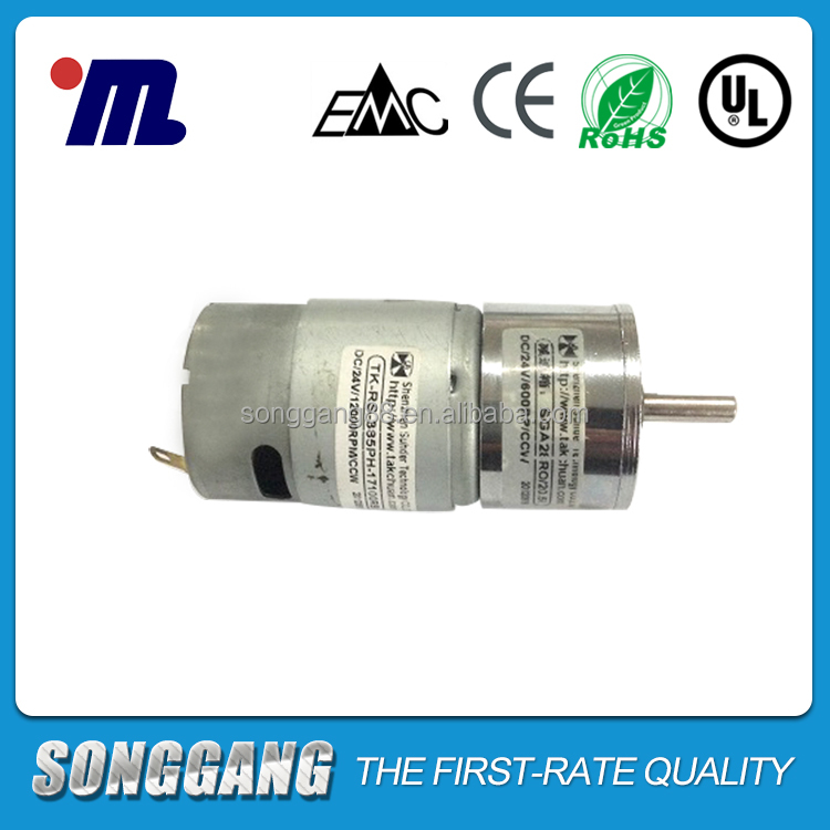 Small Mini Specifications 12 Volt 12v 24v Electric Brush DC Gearmotor Gearbox Motor Reduction Gear And Box Motor