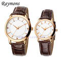Japan Quartz pair watches lover 3ATM water resistant wrist couple watches