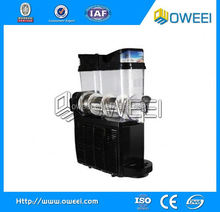 Two Tanks Bar Equipment Ice Slusher Snowmelt Machine