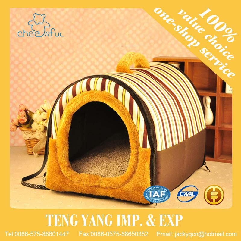Quality Perfect removable with different sizes cushion dog matwooden dog bed
