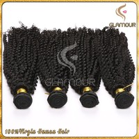 2016 8A grade100% unprocessed virgin indian human afro kinky hair weaving