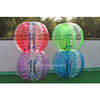 Half color kids/adult inflatable body zorb human bumper balls for sale