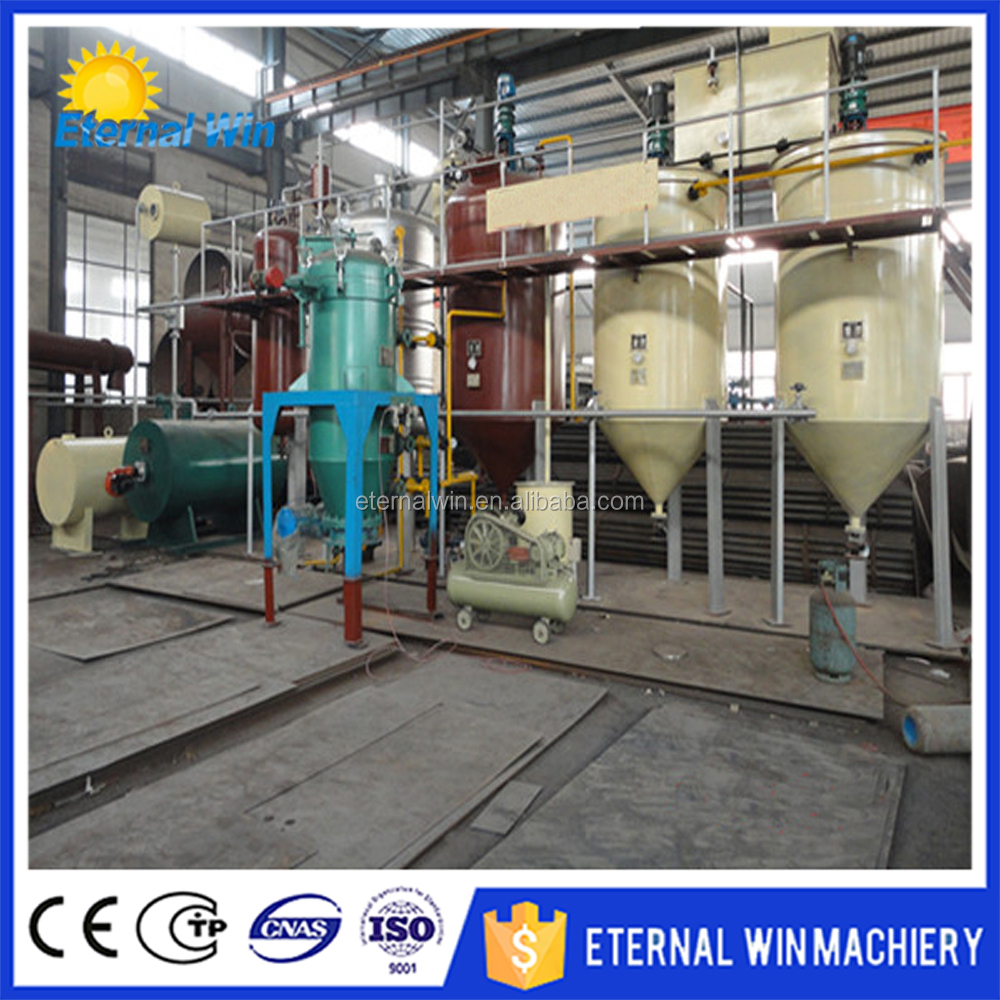 High efficiency soybean oil line soya bean oil processing plant