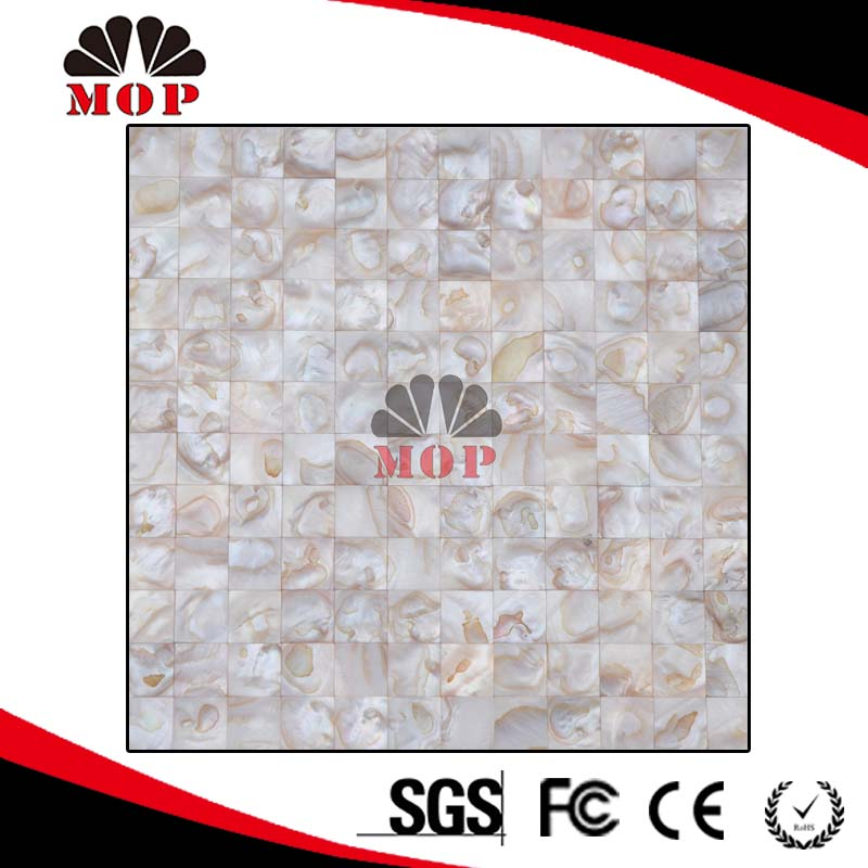 MOP-A42 Freshwater Mother of Pearl Shell Mosaic