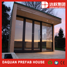 20m2 personal vocation prefabricated house with french window