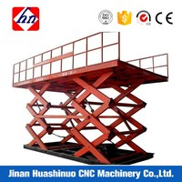 High quality stationary scissor rotating platform