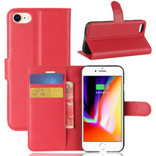 Magnetic Wallet Book Flip Pu Leather Stand Case Cover For Apple iPhone 8 2017