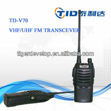 TD-V70 flashlight 5w handheld hytera hyt tc-500s two way radio