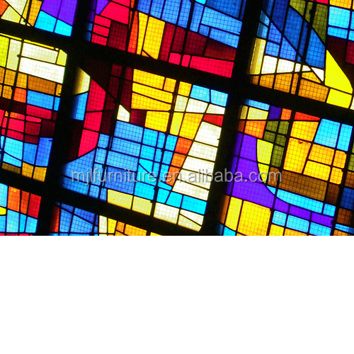 cheap price thick stained glass