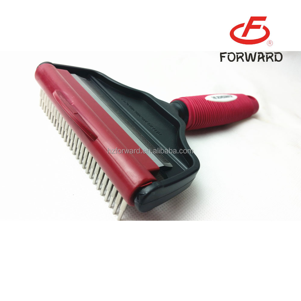 2 in 1 Pet Grooming Dematting Comb Grooming Comb Dog Grooming Products For Wholesale
