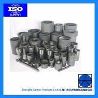graphite crucible silicon carbide graphite cucible isostatic graphite cruibles for melting