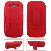 new product hard case holster kickstand belt clip case For Samsung Galaxy i9300 S3 SIII