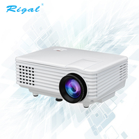 RD-805 New Mini LED 3D Projector 800*480 support 1080P for Home Theater Education Meeting Tablet PC Family Party