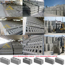 low investment high profit high strength construction block beton