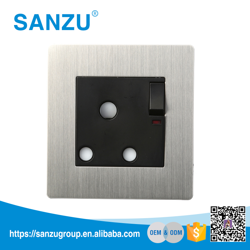 Hot selling electric wall switch socket 15 amp wall socket and switch price