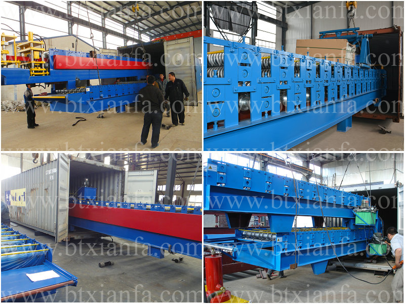 Quality Assured Board Roof Panel Steel Sheet Cutting Machine