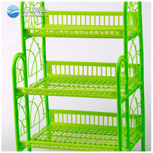 wholesale kitchen rack plate holder stainless steel kitchen shelf 2 tires kitchen accessory steel dish rack