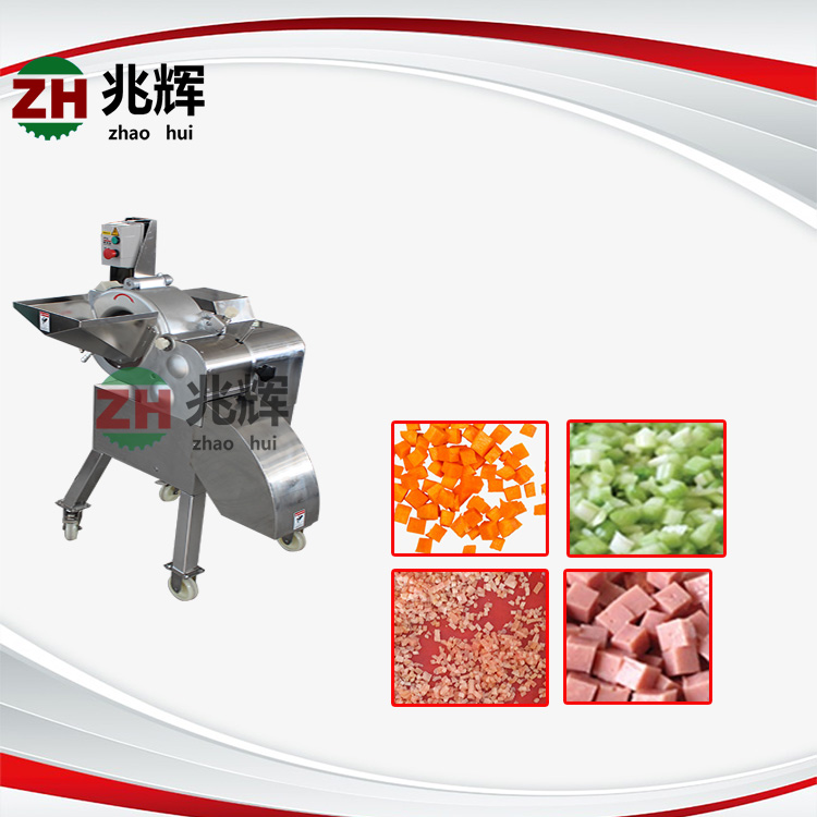 Industrial Fruit and vegetable Cube slicer pineapple meat cube cutting machine