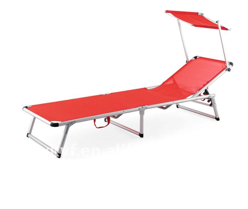 Foldable Beach Bed with sun shade