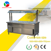 Buffet Service Equipment Restaurant Supplies Kitchen Food Appliances Electric Custom Bain Marie