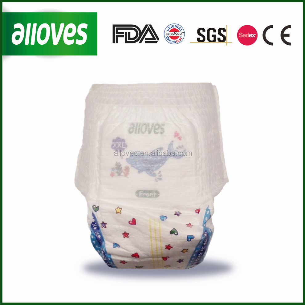 Alloves Premium Baby Diaper mom love training Pant baby diapers
