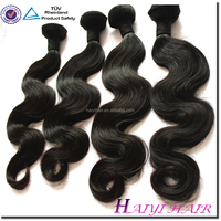 Top Grade Virgin Human Hair Extension Human And Synthetic Blend Hair