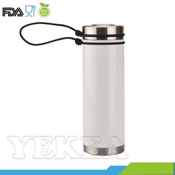 Canteen 7 -- 700 ml spray lacquer double wall vacuum insulated stainless steel thermal water bottle