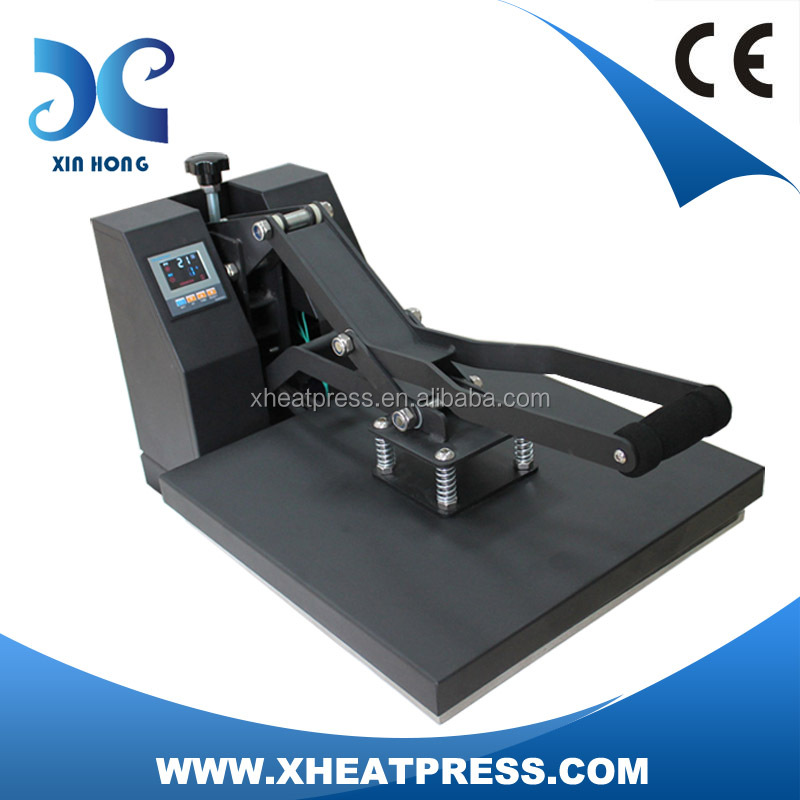 lowest price direct to t-shirt LCD controller panel clothes stamping heat press printing machine HP3804