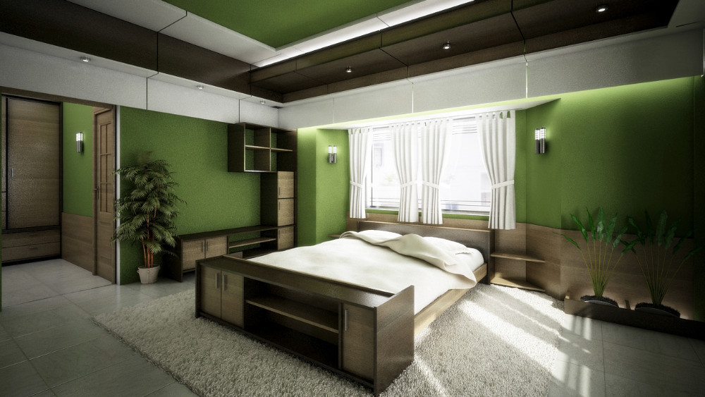 modern Bed room interior design